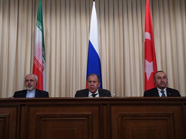Россия, Иран, Турция встреча в Москве